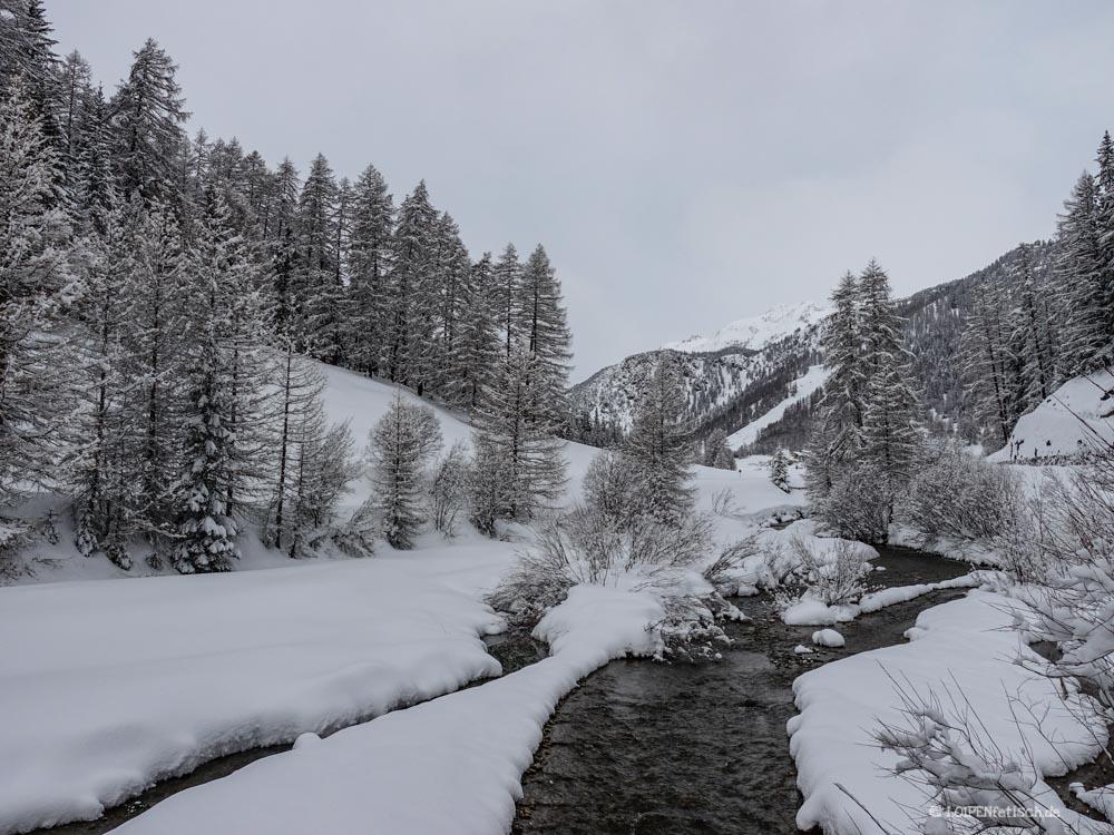 das Rombach in Val Müstair