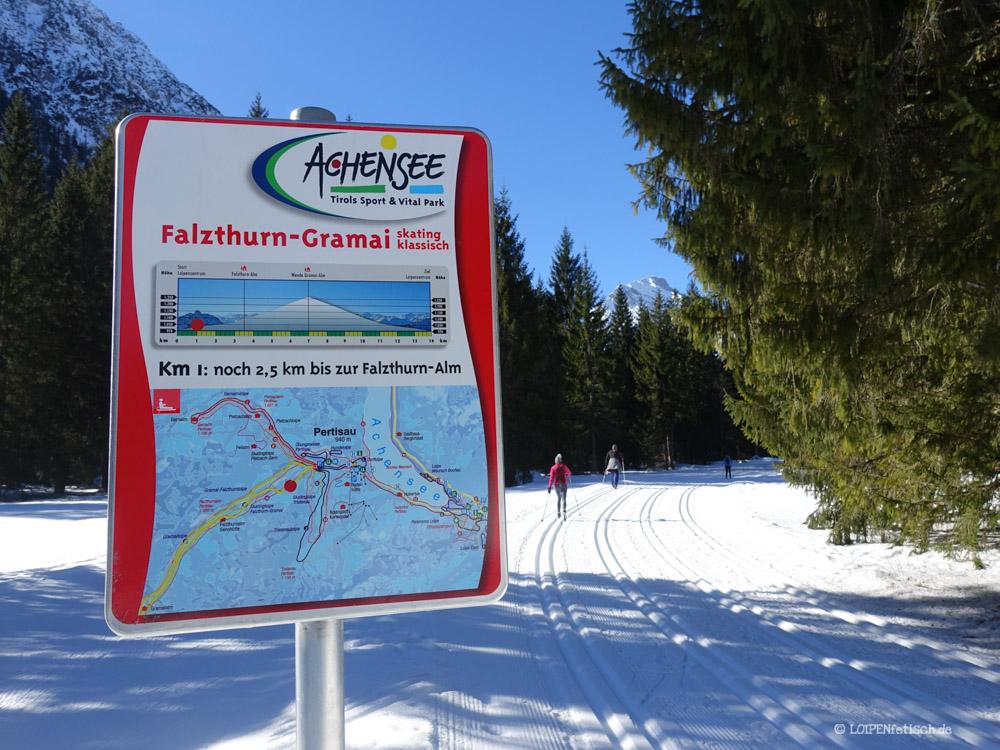Loipe Falzthurn - Achensee
